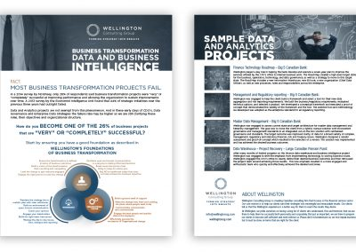 Project | Graphic Design | Financial Brochure and Handout