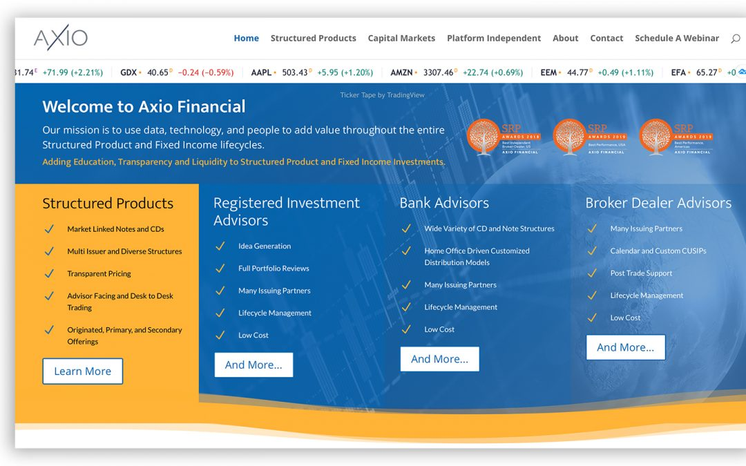 Web Design and Management Financial