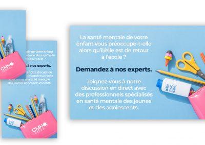 Bilingual Back to School Social Posts