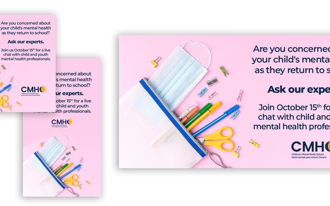 Charity Back to School Social Post Design