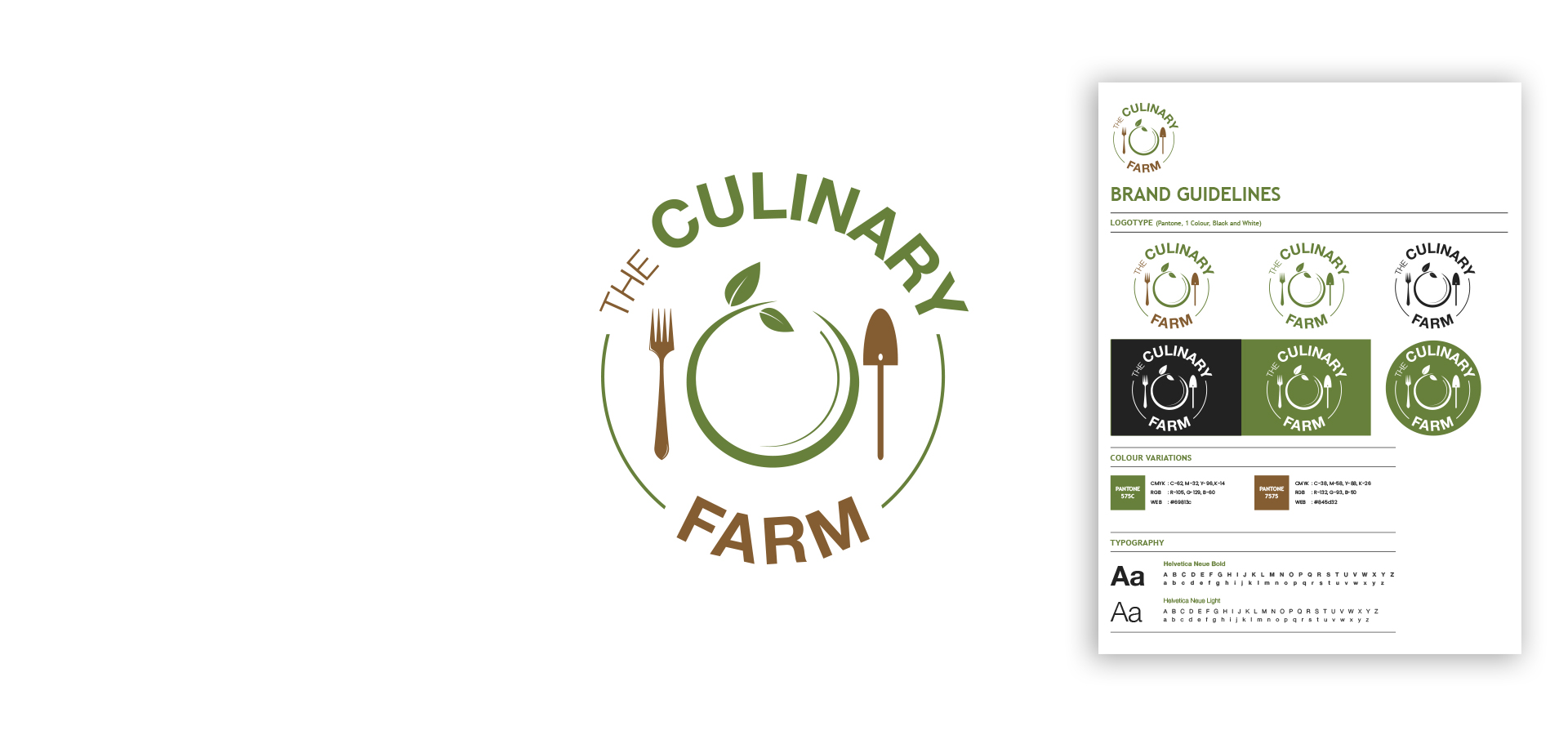 Culinary Farm Logo design